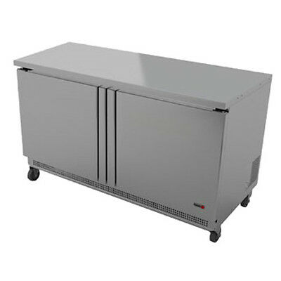Fagor Fur-48 48 Two Section Undercounter Reach-in Refrigerator- 11.8 Cu. Ft.