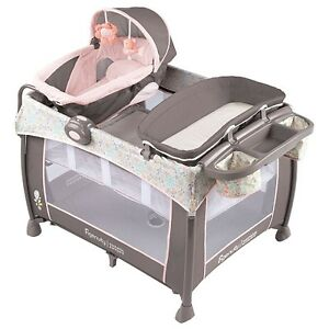NEW - Ingenuity Washable Playard Deluxe with Dream Centre - Pipe
