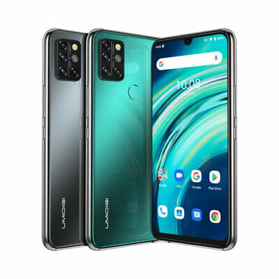 Android Phone - UMIDIGI A9 Pro Smartphone 6.3'' 6GB+128GB Quad Camera Factory Unlocked Octa Core