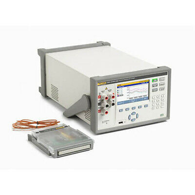 Fluke Calibration 1586a2hc 120 Super-daq Precision Temp Scanner