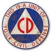 Civil Defense Sign