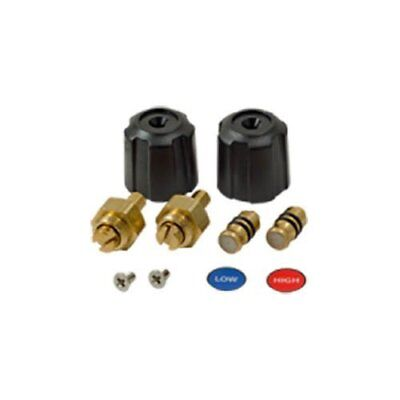 Fieldpiece Rsmank6 Replacement Valve And Knob Kit For Sman23 Manifolds