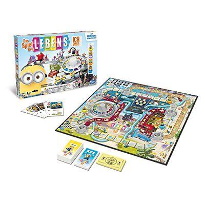Hasbro Spiele Das Spiel des Lebens Ich Familienspiel Kinder Party Brettspiel NEU (Minion Party-spiele)