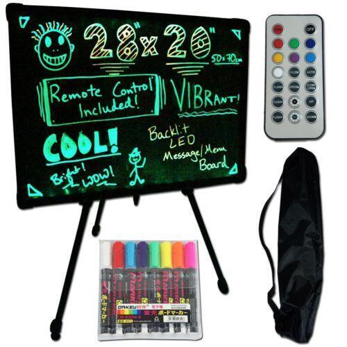 Neon Dry Erase Board Ebay