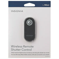 Insignia Remote Wireless Shutter Control for Nikon SLR's