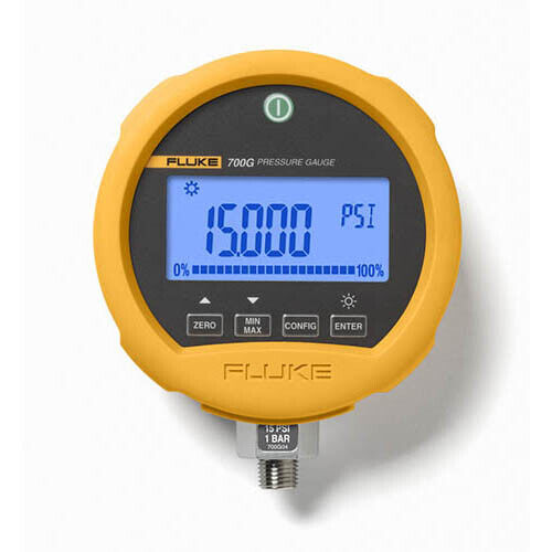 Fluke 700G08 Precision Pressure Test Gauge, -14 to 1000 psi, 69 bar