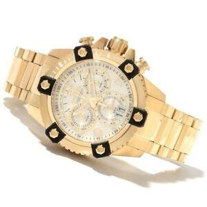invicta mens watch reserve men s invicta reserve gold watch