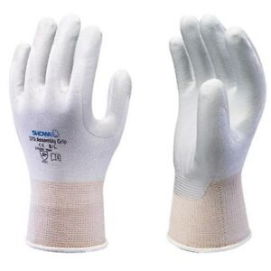 SHOWA-370-Assembly-Grip-Gloves-Nitrile-Palm-White-All-Sizes