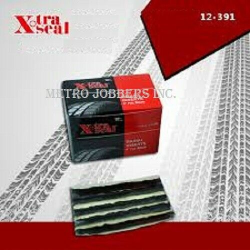 "Xtra Seal 4"" Black Radial Plugs Tubeless Tire Repair 12-391 Made In USA 50/Box"