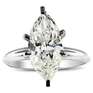 Marquise Diamond Ring White Gold