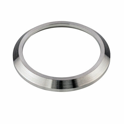 BRUSHED STAINLESS STEEL PILOT STYLE (No Markings) BEZEL FOR SEIKO SKX007 #B13-M