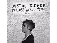 Justin Bieber Purpose Tour 2016 X4 Sheffield