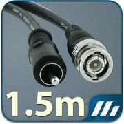 BNC to RCA Cable