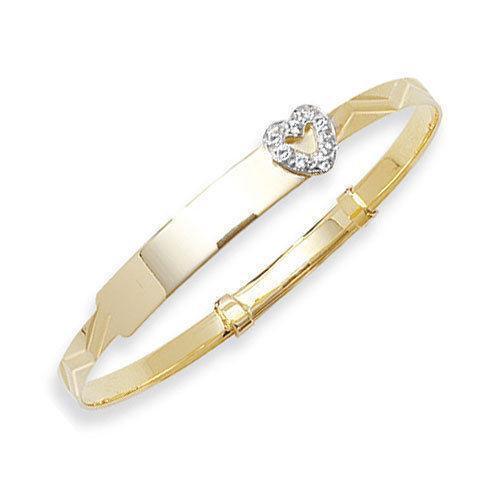 9ct Gold Baby Bracelet