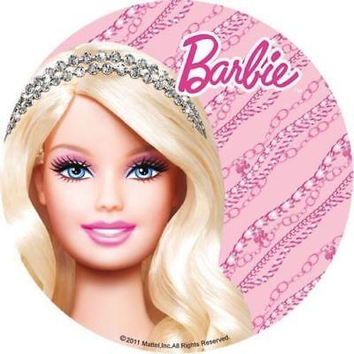 Tortenaufleger---Barbie--Geburtstag--Party----Fondant //Oblate