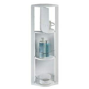 details about quebec rotating corner bathroom cabinet by showerdrape