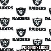 Oakland Raiders Fabric