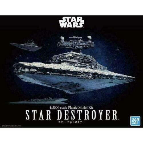 Bandai Hobby Star Wars Slave I 1//144 Scale Model Kit 1 200638 USA Seller
