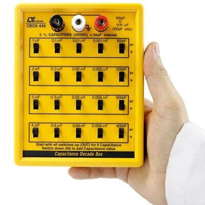 Capacitance Decade Box Five Decades 100 Pf To 11uf 100 Pf Per Step