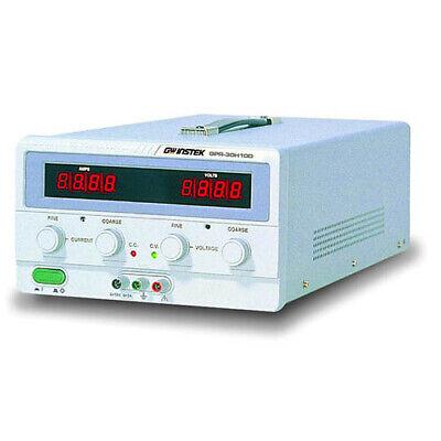 Instek Gpr-30h10d Dc Power Supply 300v1a