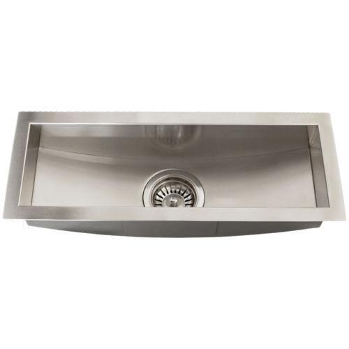 Square Sinks For Kitchen : Square Undermount Kitchen Sink eBay
