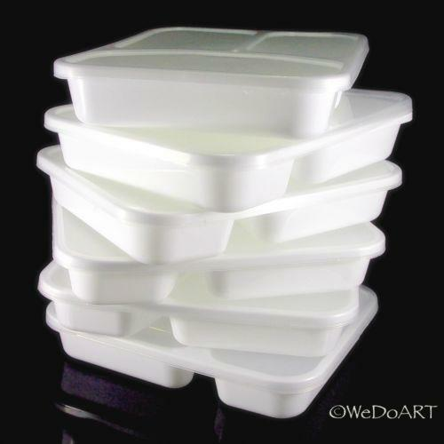 Divided Plastic Containers Ebay