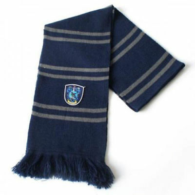 Harry Potter Ravenclaw Thicken Wool Knit Scarf Wrap Warm Costume Cosplay Gift