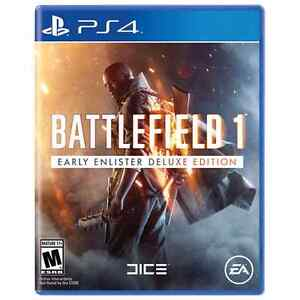 WANTED PS4 Battlefield 1 Deluxe Edition