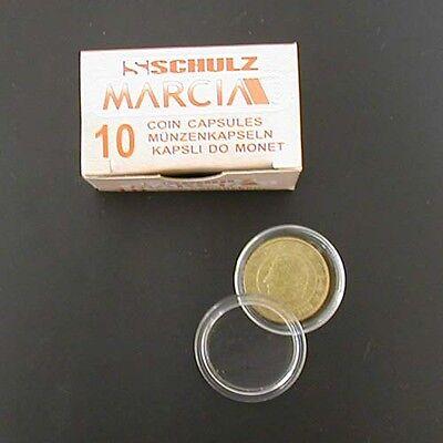 50 capsules voor munten