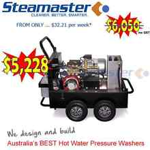 Steamaster 1111F Hot Water Pressure Washer with Stainless Steel Adelaide CBD Adelaide City Preview
