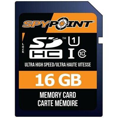 Spypoint MICROSD16GB High-Speed 16GB Computer Camera Memory Micro SD Card - $13.89