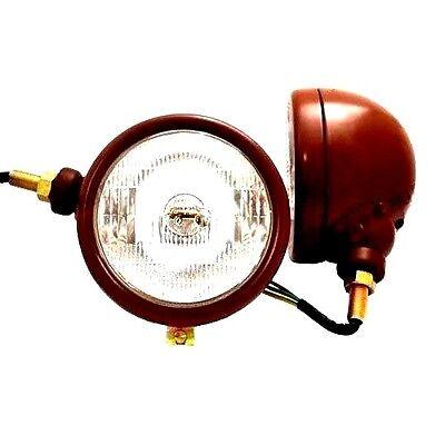 Original Style Head Lights Fit David Brown 850 880 900 950 990 Implematics