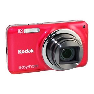 Kodak EASYSHARE M583 14.0 MP Digital Camera - Red