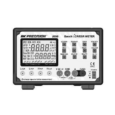 Bk Precision 889b Synthesized In-circuit Lcresr Meter With Component Tester