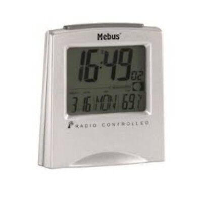 Mini Radio Despertador de Viaje Digital Reloj Mesa Negro 51322 segunda mano  Embacar hacia Argentina