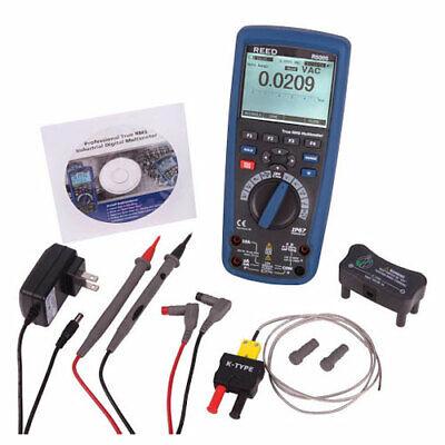 Reed Instruments R5005 Waterproof Industrial Multimeter With Bluetooth