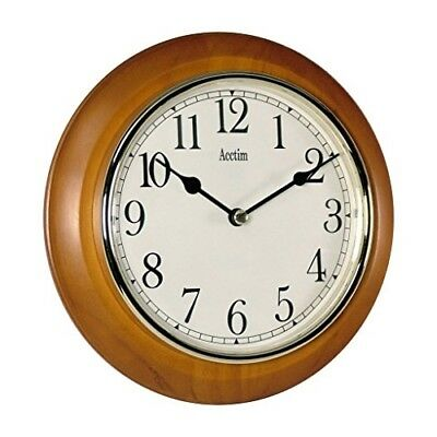 Acctim 24170 Maine Wall Clock, Cherry