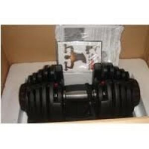 two NEVER USED, Bow-flex Select-tech Adjustable, Dumbbells 1090,