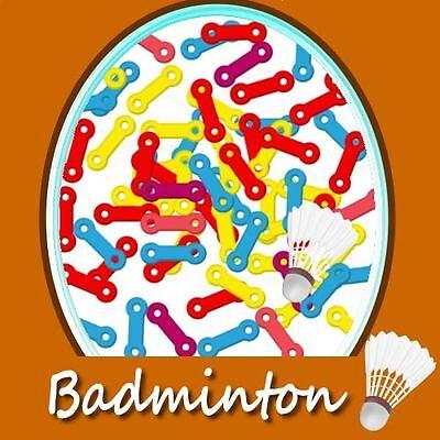Ersatz-Badmintonösen,Ösen z.Bespannung Badmintonschläger;Schonung Badmintonsaite