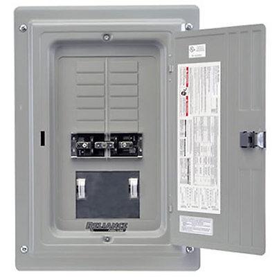 Indoor Transfer Panel - Reliance Controls 100-Amp Indoor Transfer Panel w/ Wattmeters