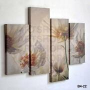 Cream Flower Canvas