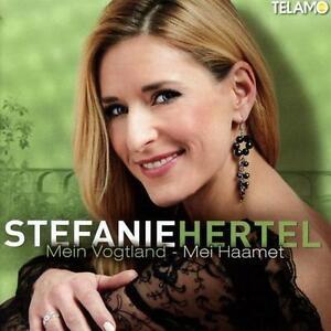 Hertel,Stefanie - Mein Vogtland-Mei Haamet - CD NEU