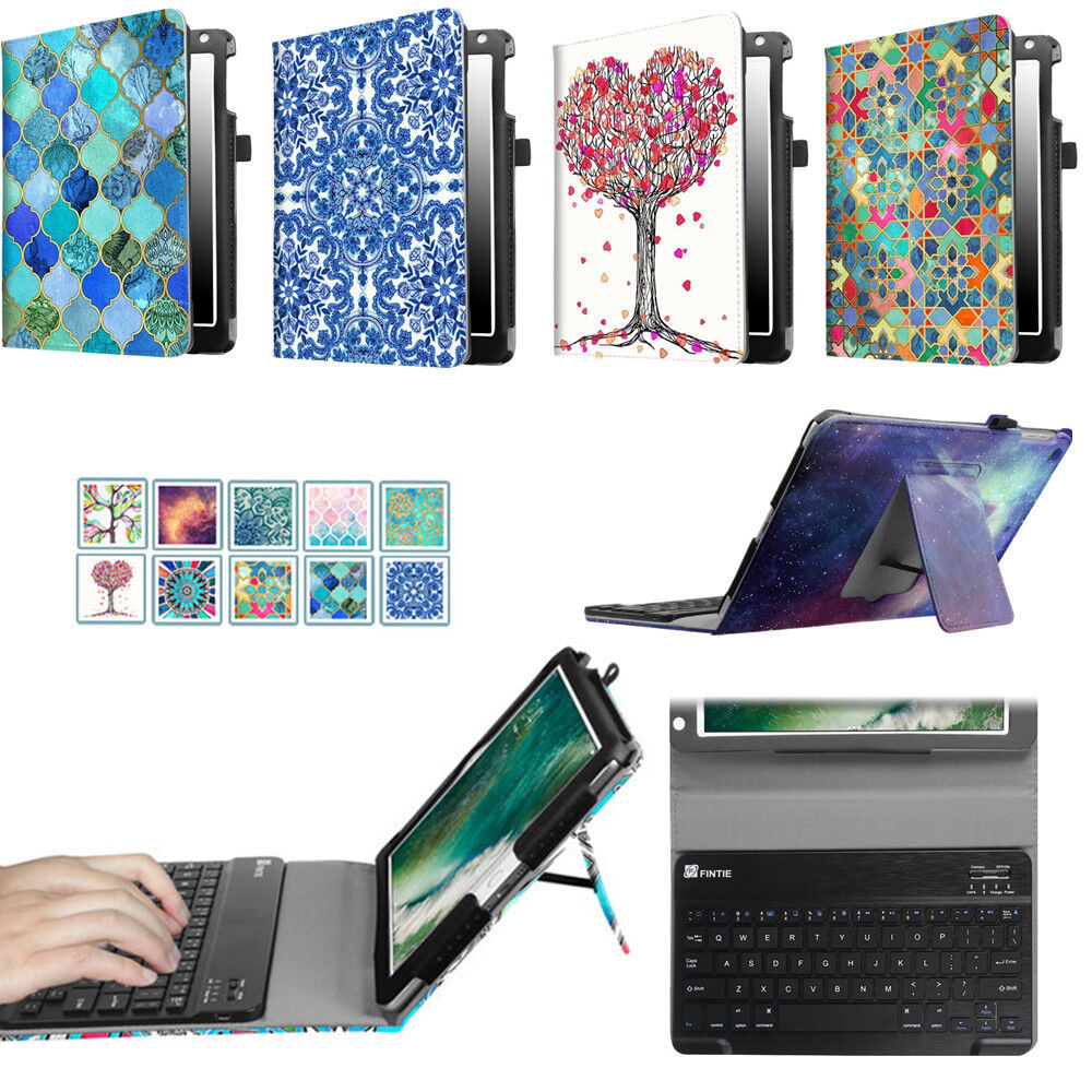 "For iPad Air 1 2  9.7"" Folio Case Cover With Removable Bluet"
