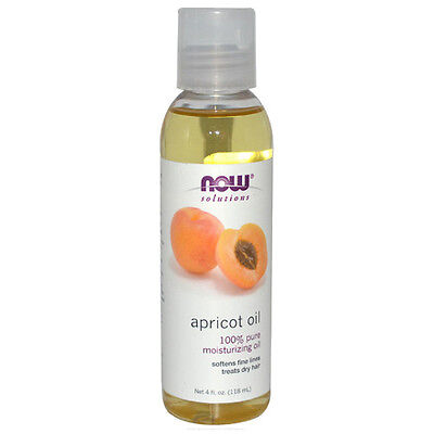 Apricot Oil  100  Pure Moisturizing Oil   4 Oz   Now Foods Solutions