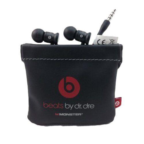 GENUINE Monster Beats by Dr Dre urBeats InEar Headphones Earphones Black  Red