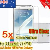 Samsung Galaxy Note 2 Screen Protector