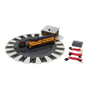 Bachmann-46299-HO-Scale-Motorized-Turntable-DCC-Ready-Direction-Control-New
