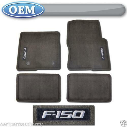 Ford F150 Logo Floor Mats