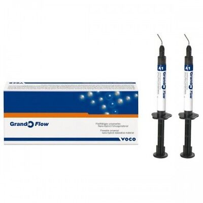 Voco 1864 Grandio Flow Flowable Composite Dental Syringe 2 Grams A2 2pk