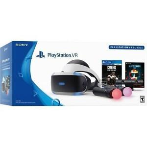 ee0b046409a NEW PS4 PLAYSTATION VR BUNDLE CUH-ZVR2 250026046 VIRTUAL REALITY HEADSET  CREED SUPERHOT